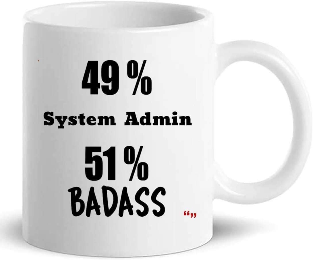 Not Applicable Systemadministrator Windows Server Tasse 11Oz
