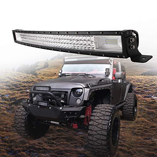 Barra de luz LED curva Philips de 32 pulgadas, 405 W, combo de foco de inundación, lámpara de conducción, luz de trabajo...