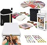 Polaroid Zip Wireless Photo Printer (White) Starter Bundle with Neoprene Case