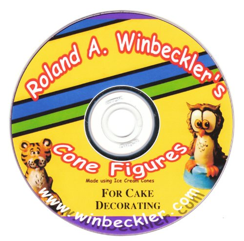 Cone Figures For Cake Decorating DVD