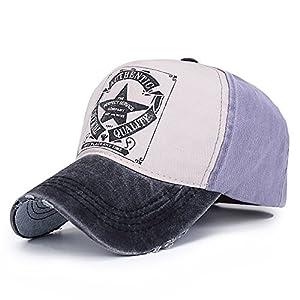 HonourSport Unisex Cappellini Berretto Cappellino da Baseball cap Cappello Estate Stabile Moderno Taglia Unica 4 spesavip