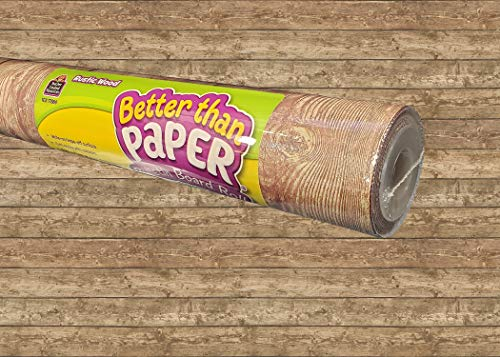 Rustic Wood Better Than Paper Bulletin Board Roll -