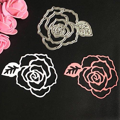 DIY Cutting Dies - Iusun Metal Stencil Scrapbooking Embossing Album Paper Card Craft Gift (F)