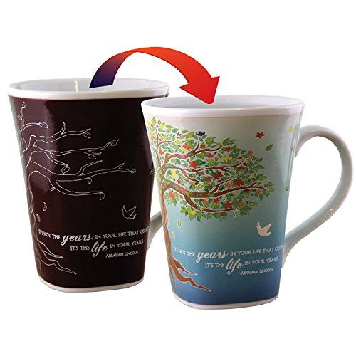 Color Changing Mug - Life Story - Large 16 Ounce - Porcelain]()