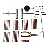 Baoblaze Tire Repair Kit Tools Heavy Duty 56pc Set For Motorcycle ATV Jeep Truck