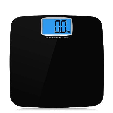 LCSHAN Básculas de pesaje caseras Mida la pérdida de Peso ...