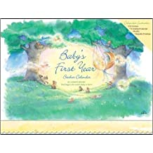 Baby's First Year Calendar with Sticker by Avalanche Publishing (May 19,2002)