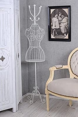 Muñeco de Sastre ANTIGUO eisenpuppe Perchero Shabby Busto De ...