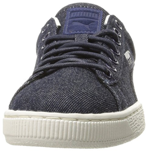 Cestino Classic denim moda sneaker, Twilight Blue-Whisper, 9.5 M US