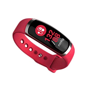 Pulsera Actividad Reloj Inteligente Pantalla Color Pulsómetro Podómetro Monitor de Calorías Reloj Inteligente para Android y iOS Teléfono móvil: Amazon.es: ...
