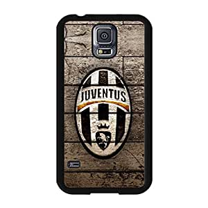 Samsung Galaxy S5 I9600 Case Plastic Cover, Juventus FC S.P.A Logo Phone Case Beautiful Newest Juventus Design Back Cover Snap on Samsung Galaxy S5 I9600
