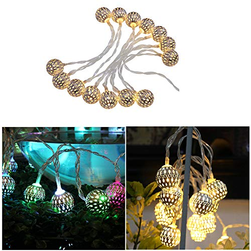 Anyren Warm Christmas Fairy String Lights Wedding Xmas Party Outdoor Decor Lamp (Gold)