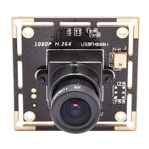SVPRO Full HD 1080P Mini USB Camera Module Board,USB 2.0 Sony IMX322 Low Illumination Sensor H.264 USB Webcam for Android/Linux/Windows(3.6mm (Mjpeg Usb)