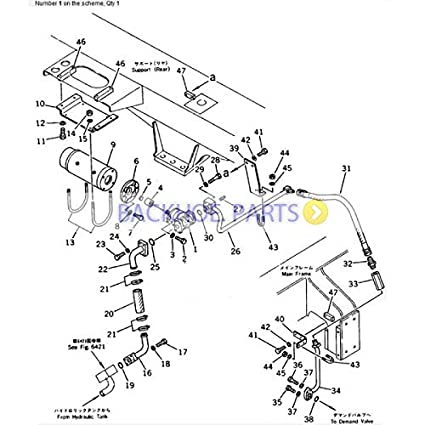 Amazon Com For Komatsu Excavator Pc40 1 Pc40 2 Pc40 3 Hydraulic
