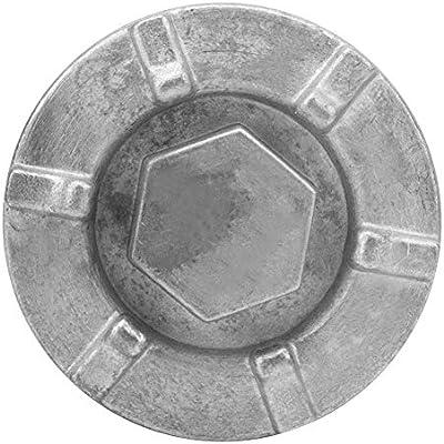 nologo Dingln 4HC-15351-00-00 Tapa del tap/ón de Drenaje del Aceite del Motor para Y-a-m-a-h-a BigBear Kodiak Grizzly Rhino