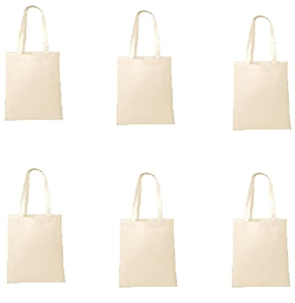 Amazon.com  NATURAL COLOR-Wholesale Non-Woven Tote Bags 95a8f7e34b283