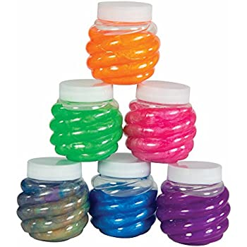 12b6cad067eb Amazon.com: Original Stationery Slime Containers with Lids 6 Ounce ...