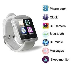 Yuntab móvil U8 Reloje SmartWatch Bluetooth 3.0 Muñequera de ...