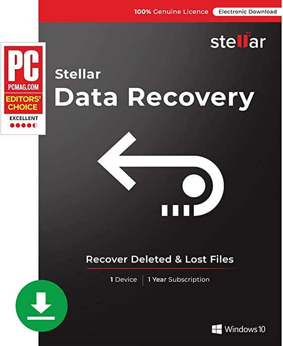 Top 8 Stellar Phoenix Windows Data Recovery  Home
