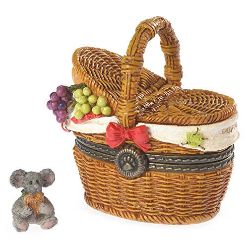 (Boyds Bears Emily's Picnic Basket with Dagwood Mcnibble Treasure Box 2013 Introduction)