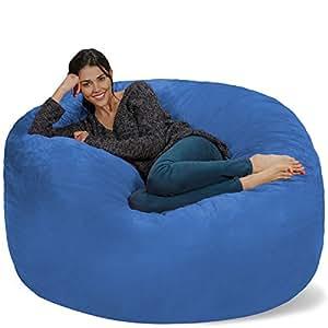 Amazon.com: Silla Chill Sack Bean Bag: muebles de espuma de ...