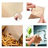 Quaanti Toaster Bags Set of 4/10 Non-Stick Reusable - Perfect for Grilled Cheese Sandwiches - Best Grill Cheese Bags - Toasted Sandwich Bags - Microwave Oven Toaster Bags - 6.3''×6.5'' (4pcs)