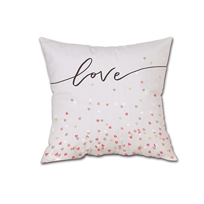 Amazon.com: Mome s Throw Funda de almohada de Valentines ...