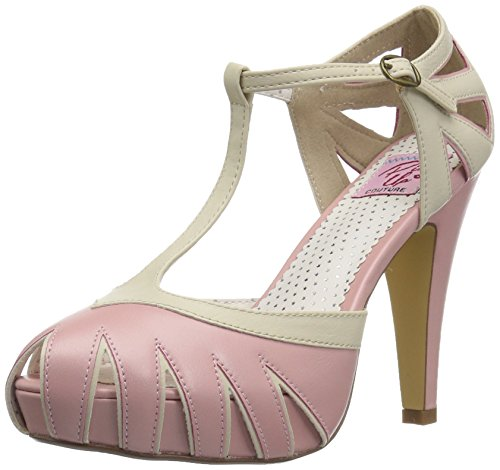 Up Leather Couture B Faux cream Pin Bettie 25 Pink SdPndpwq