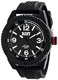 U.S. Navy Wrist Armor Men's 37400001 C20 Analog Display Japanese Quartz Black Watch
