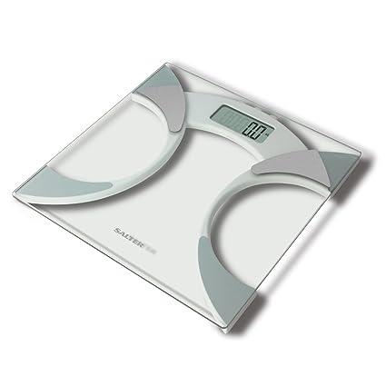 Salter Ultra Slim Analyzer Básculas de baño, Medición Peso BMI Porcentaje de grasa corporal Agua