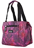 Nicole Miller of New York Insulated Lunch Cooler 11 Lunch Tote (Copacabana Magenta)