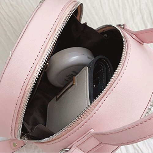 Di Mini Gj Ricamo Colore Da Signora colore Borse Rosa Crossbody Svago Rosa Viaggio Modo Bag Femminile BE8aBq