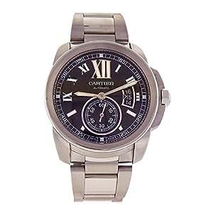 Cartier Calibre de Cartier automatic-self-wind mens Watch W7100016 (Certified Pre-owned)