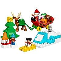 LEGO DUPLO Town Santa's Winter Holiday 10837 Building Kit (45 Piece)