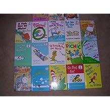 Dr. Seuss Box Set of 18 ; Go Dog Go, Wocket, Mulberry Street, Berenstain Bears, Happy Birthday Thomas, etc.