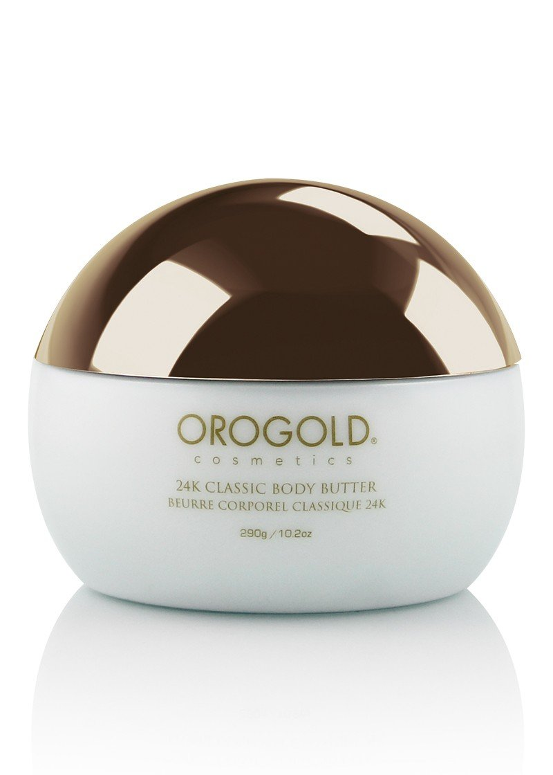 White Gold 24K Golden Body Butter from OROGOLD Cosmetics, 290 g / 10.2 oz.