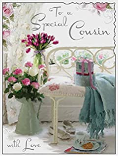 Special Cousin Happy Birthday Card