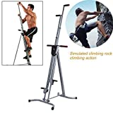 Zinnor Vertical Climber Machine Exercise Stepper Cardio Full Body Workout Fitness Home Gym Equipment Conquer