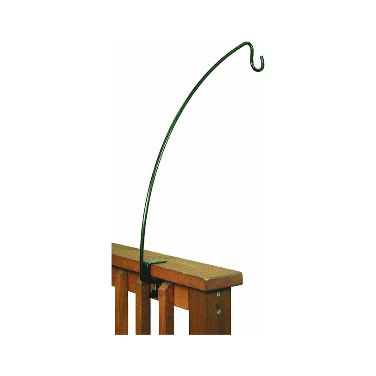 on humming clamp decks pin shephard bird hooks for iron vtg hangers feeder deck plant feeders