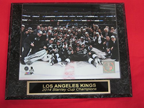 Los Angeles Kings 2014 STANLEY CUP CHAMPIONS Engraved Collector Plaque #3 w/8x10 Celebration Photo