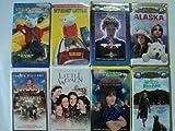Kids and Children 8 Pack VHS Movies, Stuart Little, Stuart Little 2, Indian in the Cupboard, Alaska, Jumanji, Little Women, Matilda, Secret of Roan Inish