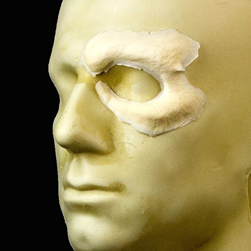 Rubber Wear Foam Latex Prosthetic - Zombie Eye- Left- FRW-074 - Makeup and Theater FX (2)