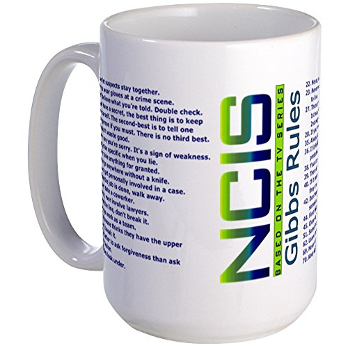 CafePress Large Mug Coffee Mug, Large 15 oz. White Coffee Cup