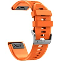 Cooljun Compatible avec Garmin Instinct,Bracelet à Fixation Rapide en Silicone de Sport Bracelet de Montre