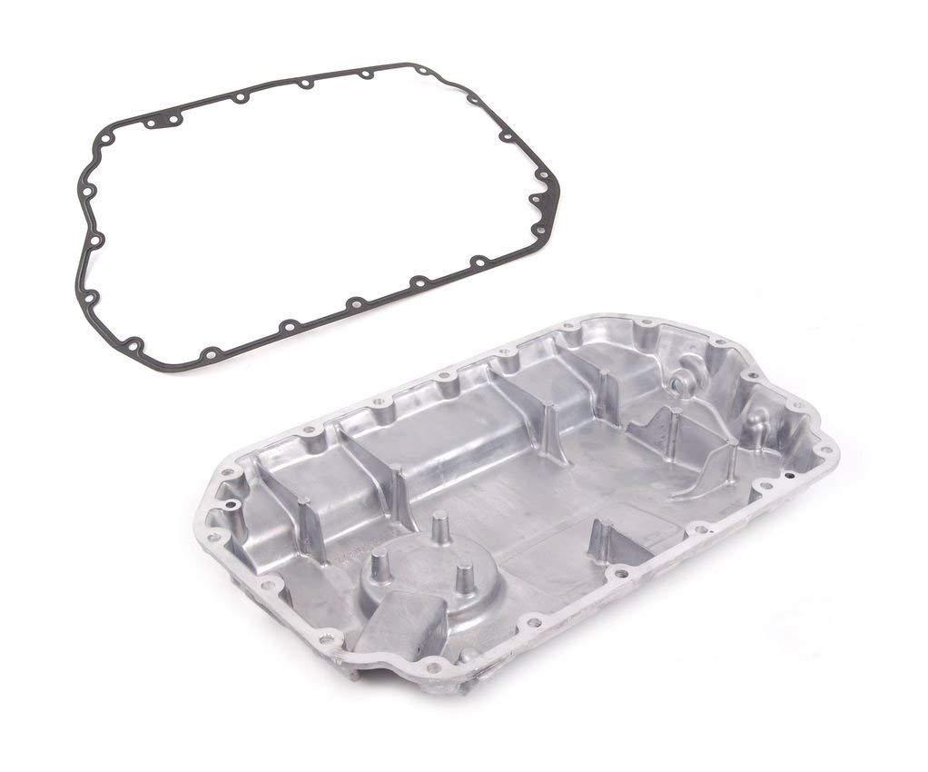 Lower Engine Oil Pan + OEM Gasket for VW Passat Audi A4 A6 2.8 V6