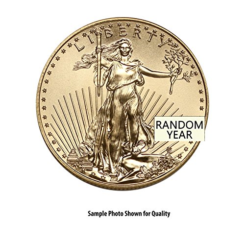 1986 - Present 1/2oz American Gold Eagle (Random Year) $25 Brilliant Uncirculated