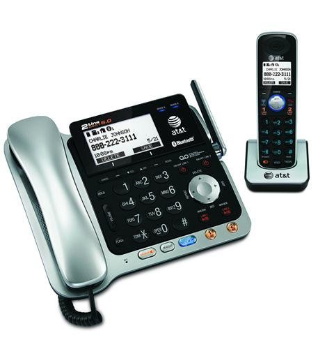 NEW ATT 2-line Corded/Cordless with ITAD