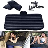Inflatable Mattress With Air Pump/Heavy Duty Inflatable Car Mattress Bed for SUV Minivan Back Seat Extended Mattress-Mobile Inflatable Air Bed Cushion Dedicated for Sleep Rest and Intimate Motion