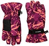 Columbia Little Girls Y Core Glove, Deep Blush Camo, Small