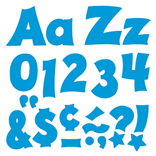 Trend Enterprises Blue 4-Inch Friendly Uppercase/Lowercase Combo Pack Ready Letters (T-79806)